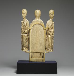 Opening Virgin triptych (Vierge ouvrante); Boubon Virgin (Vierge de Boubon) (Back (open))